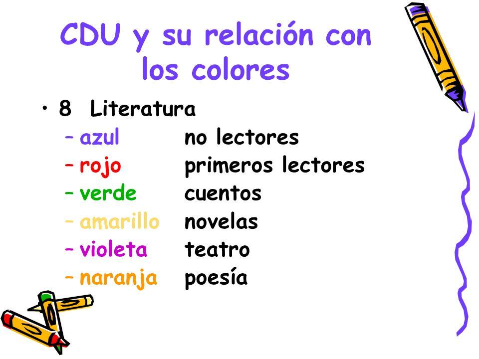 CDU y su relación con los colores