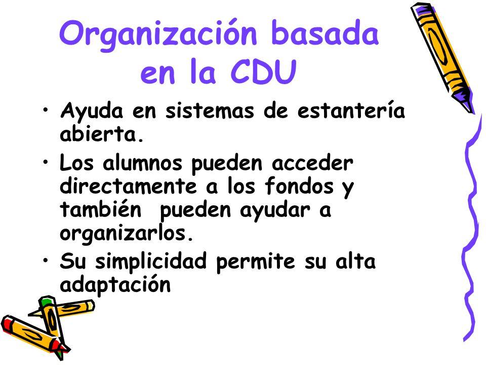 Organización basada en la CDU