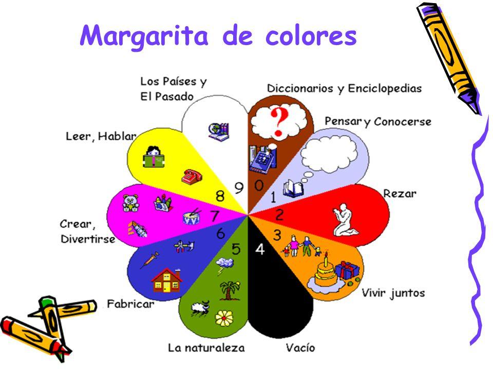 Margarita de colores