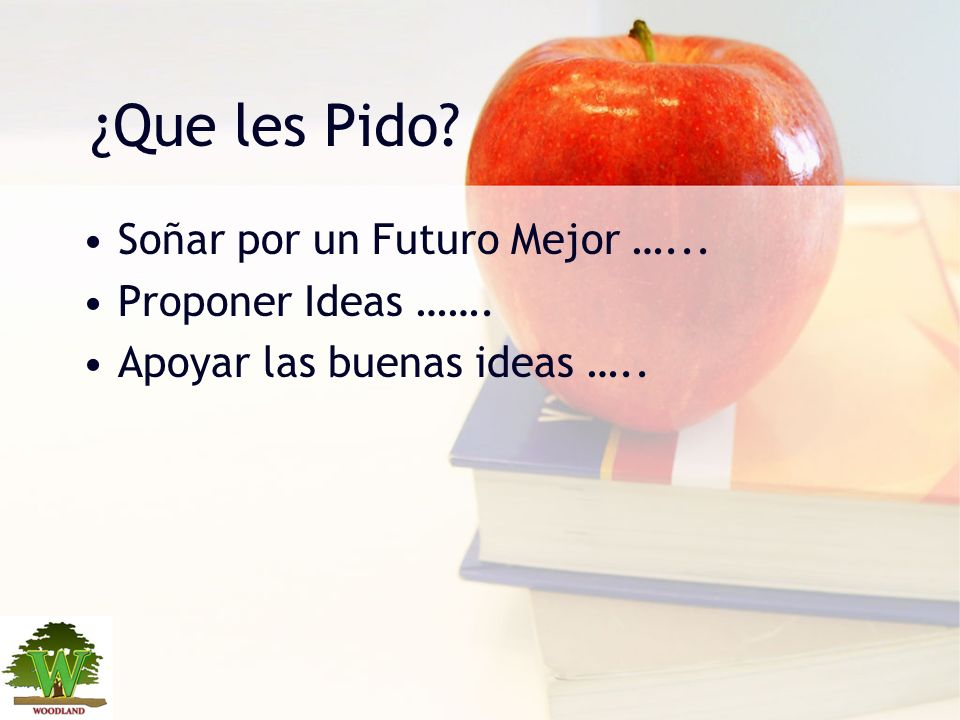 ¿Que les Pido Soñar por un Futuro Mejor …... Proponer Ideas …….