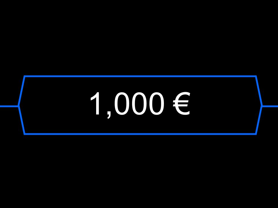 1,000 €
