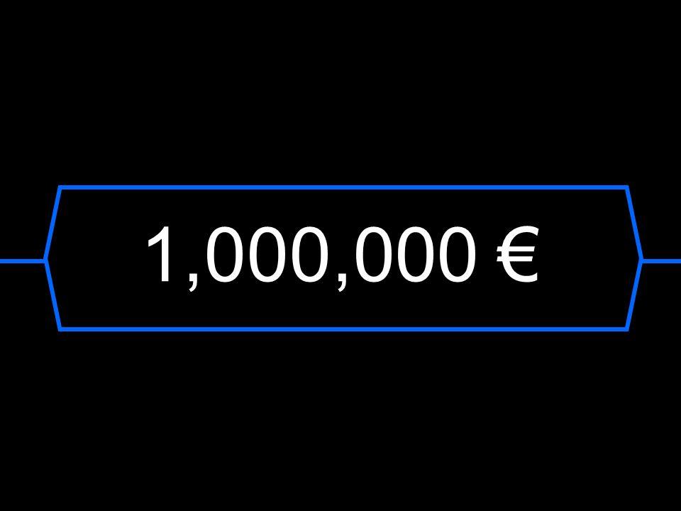 1,000,000 €