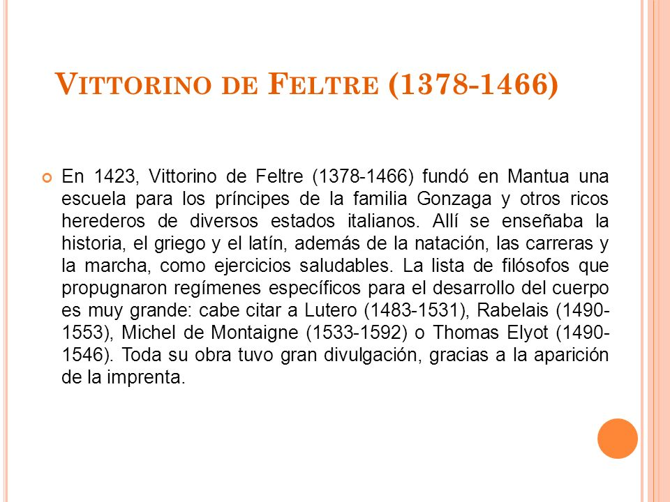 Vittorino de Feltre (1378-1466)