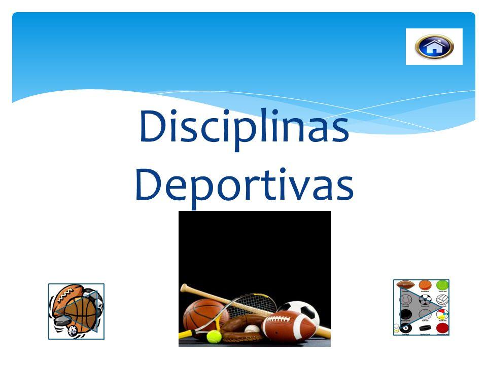 Disciplinas Deportivas