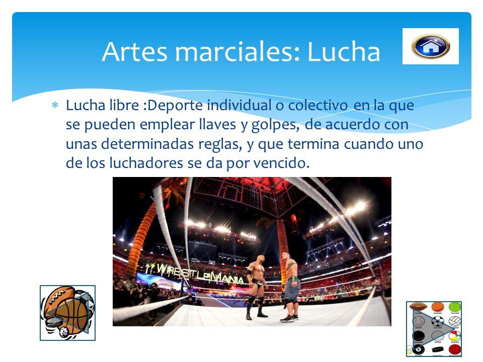 Artes marciales: Lucha
