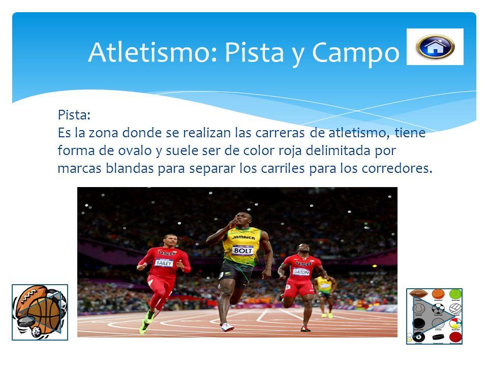 Atletismo: Pista y Campo