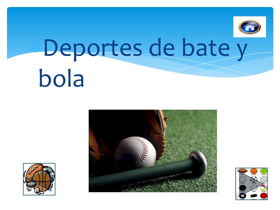 Deportes de bate y bola
