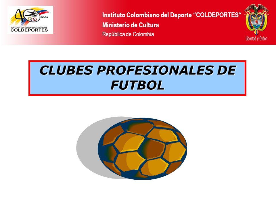 CLUBES PROFESIONALES DE FUTBOL