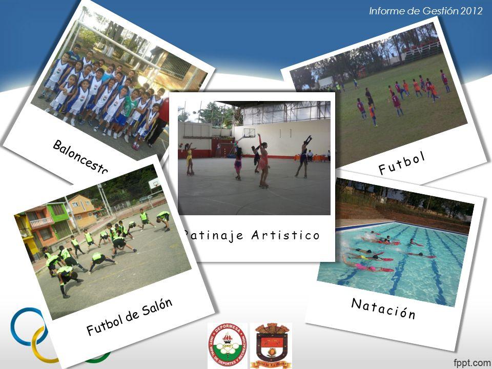 Baloncesto Futbol Patinaje Artistico Futbol de Salón Natación