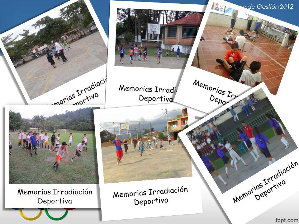 Memorias Irradiación Deportiva Memorias Irradiación Deportiva