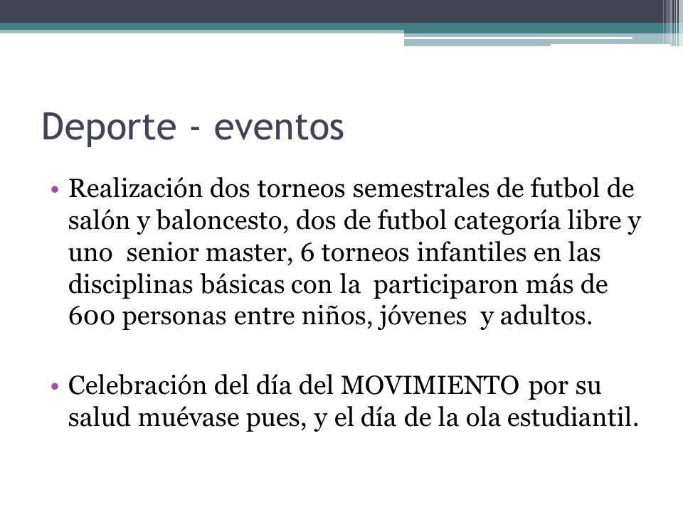 Deporte - eventos