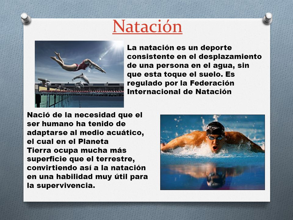 Natación