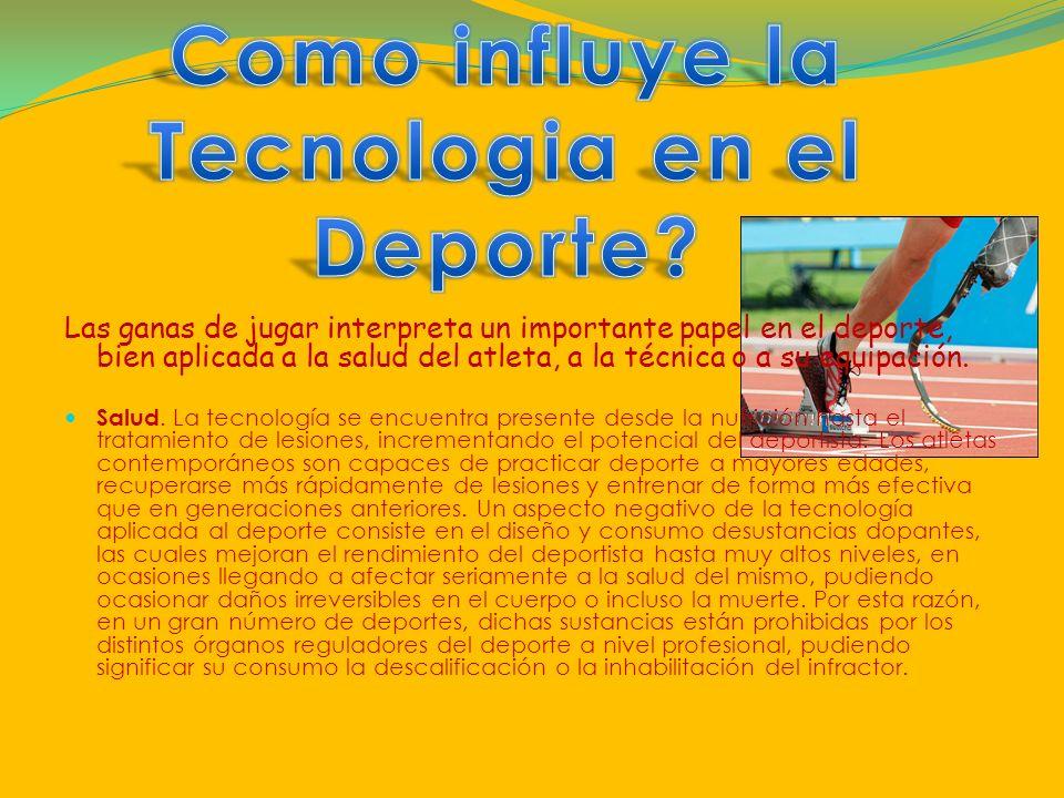 Tecnologia en el Deporte