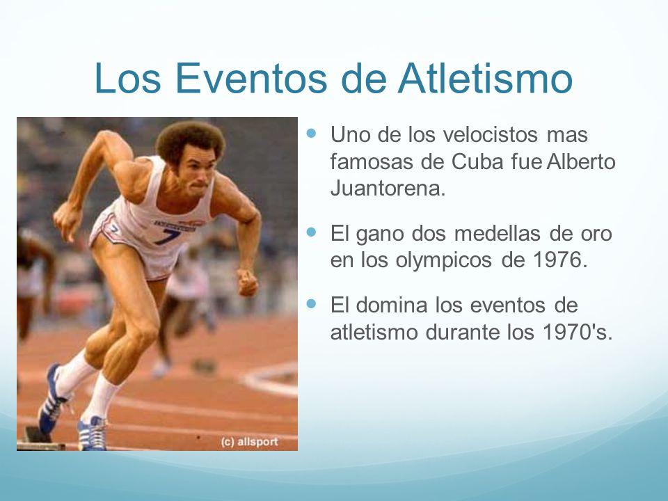 Los Eventos de Atletismo