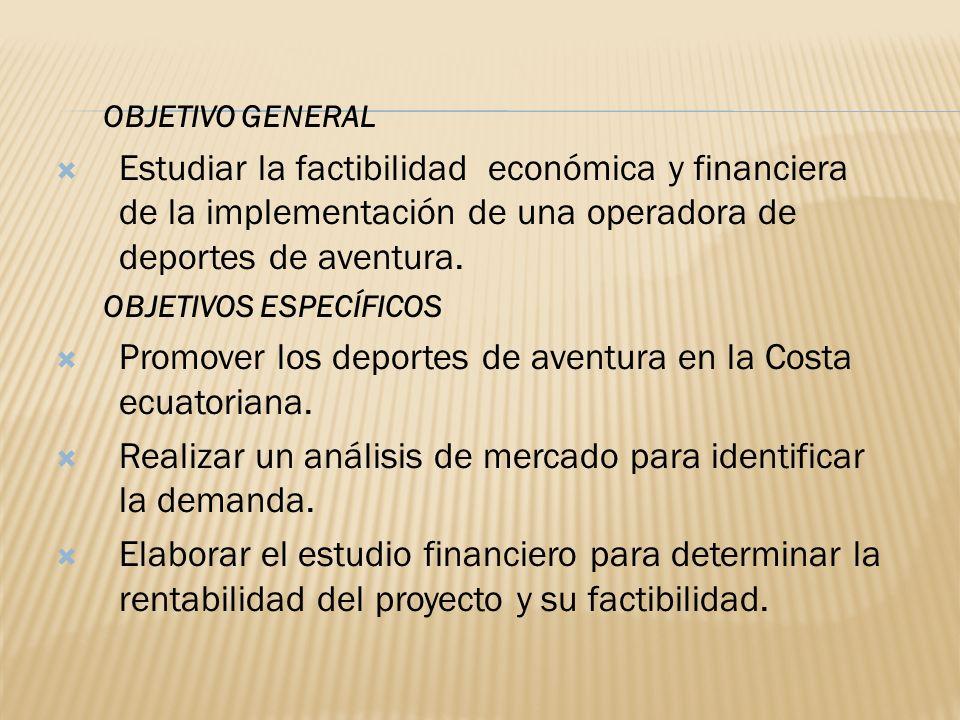 Promover los deportes de aventura en la Costa ecuatoriana.