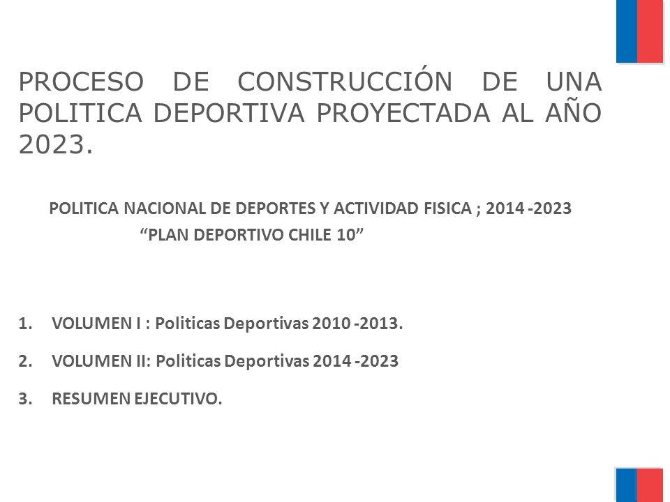POLITICA NACIONAL DE DEPORTES Y ACTIVIDAD FISICA ; 2014 -2023