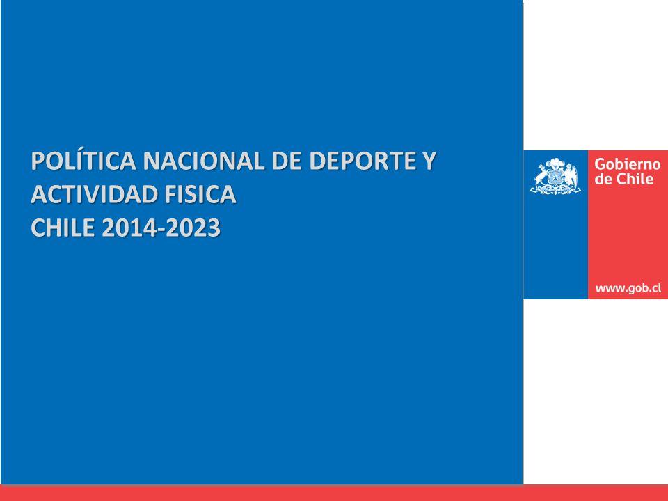 POLÍTICA NACIONAL DE DEPORTE Y ACTIVIDAD FISICA CHILE 2014-2023