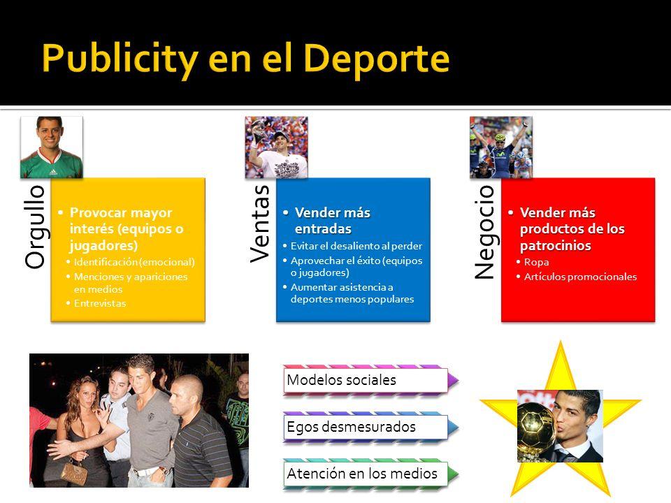 Publicity en el Deporte