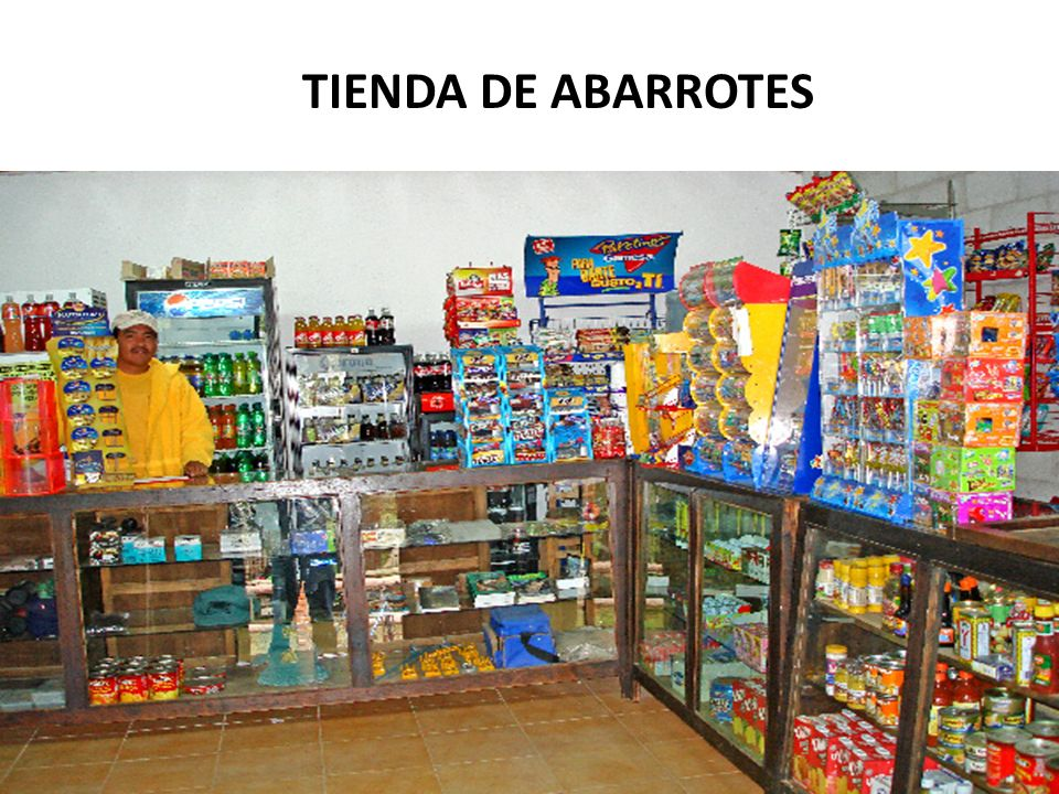 TIENDA DE ABARROTES