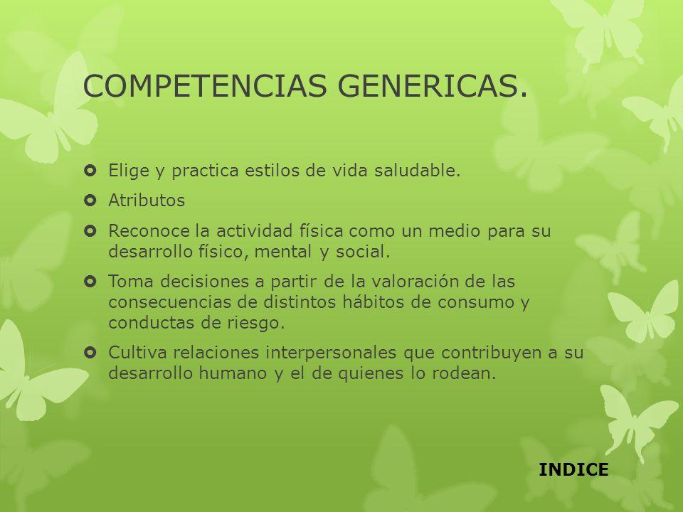 COMPETENCIAS GENERICAS.