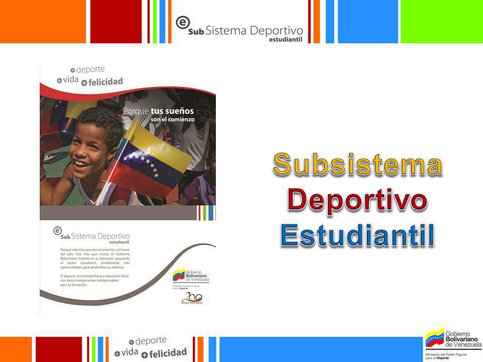 Subsistema Deportivo Estudiantil