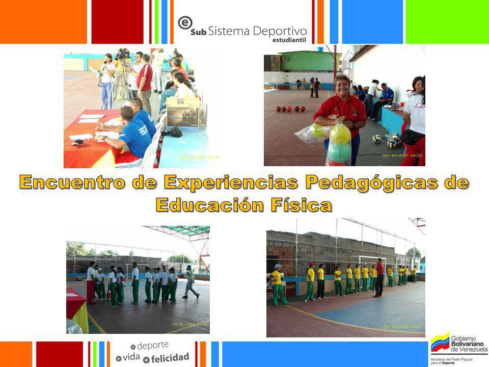 Encuentro de Experiencias Pedagógicas de Educación Física