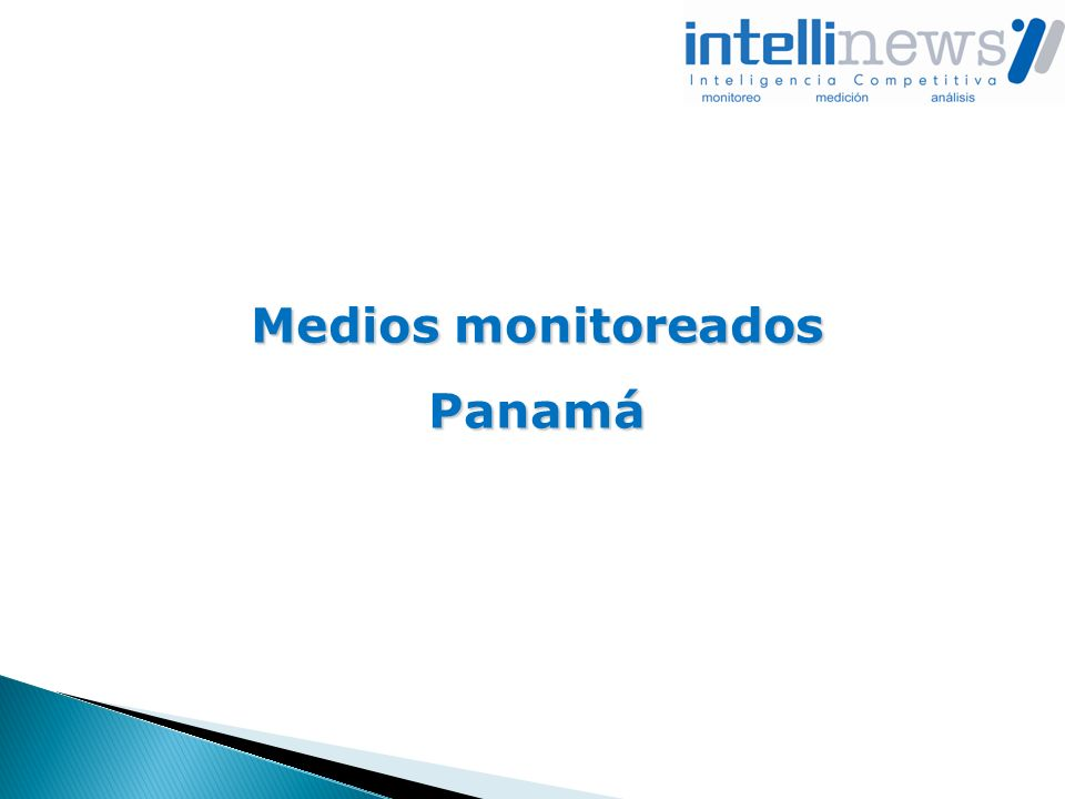 Medios monitoreados Panamá