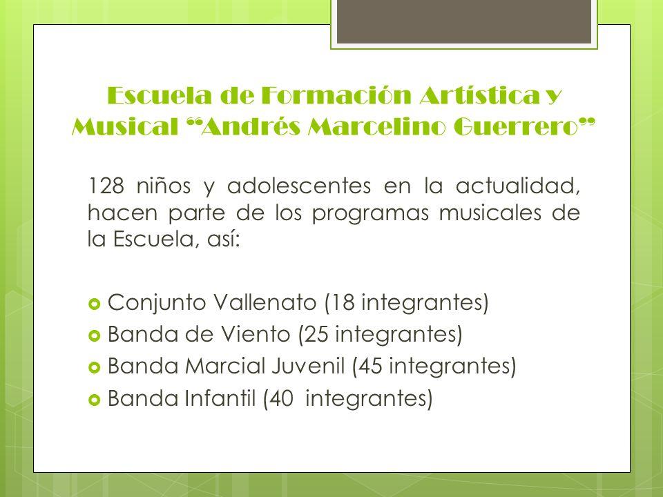 Escuela de Formación Artística y Musical Andrés Marcelino Guerrero