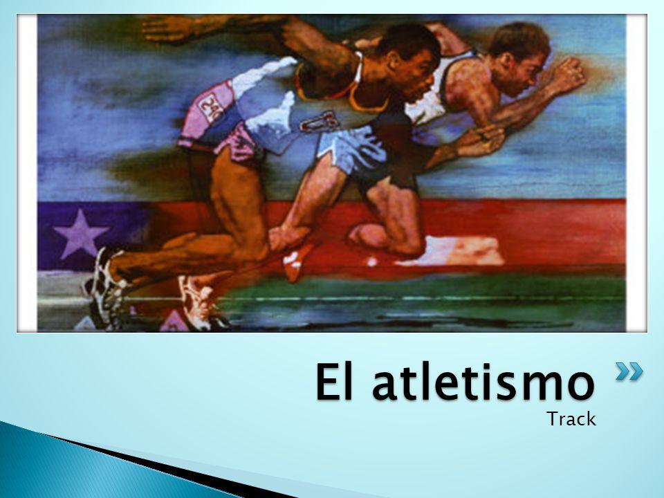El atletismo Track