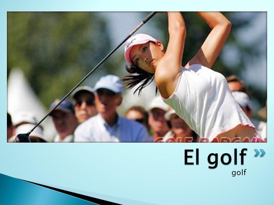 El golf golf