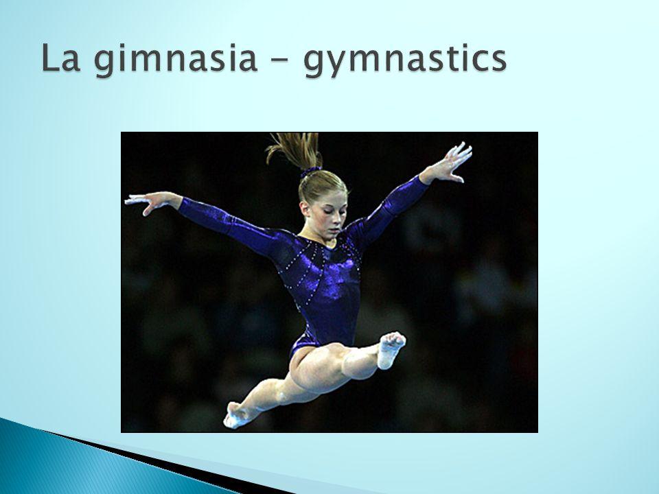 La gimnasia - gymnastics