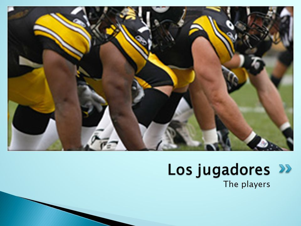 Los jugadores The players
