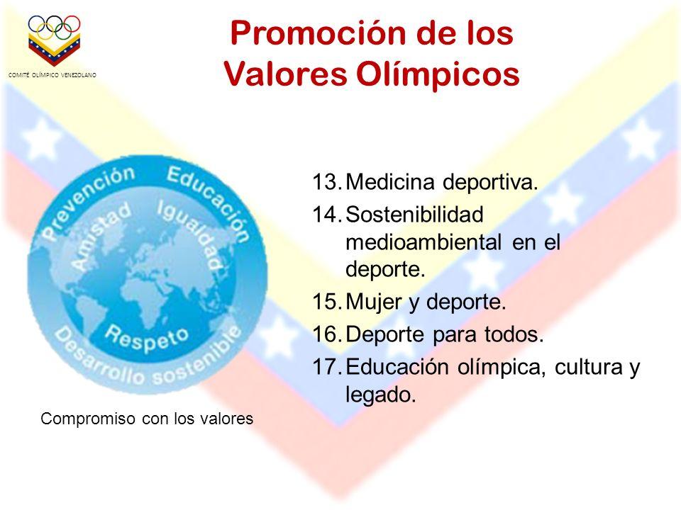 Promoción de los Valores Olímpicos
