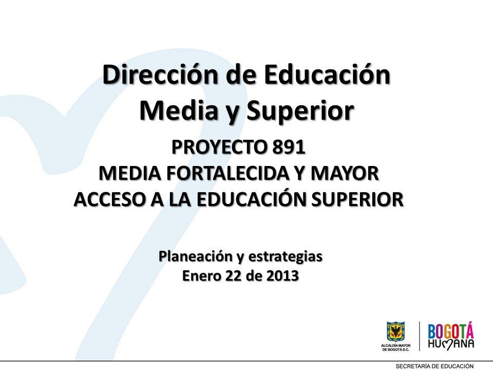 Dirección de Educación Media y Superior