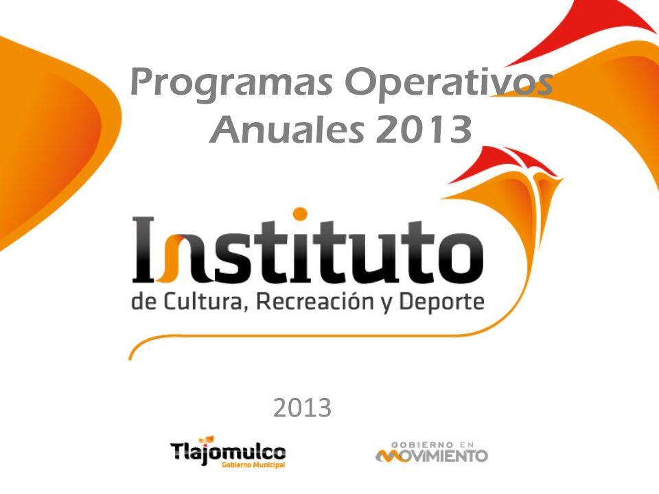 Programas Operativos Anuales 2013