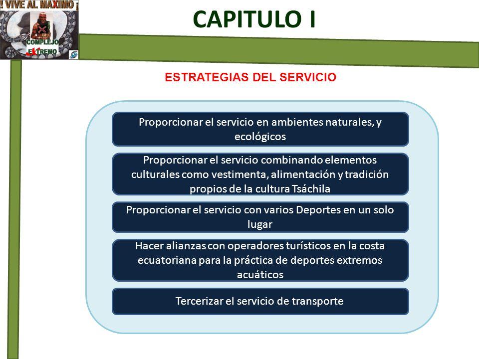ESTRATEGIAS DEL SERVICIO