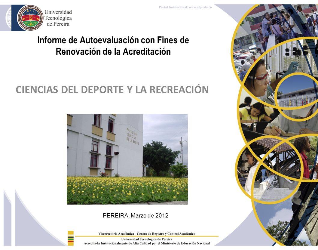 Informe de Autoevaluación con Fines de Renovación de la Acreditación