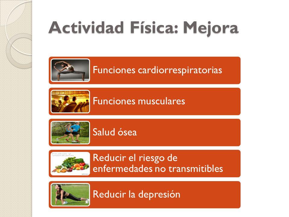 Actividad Física: Mejora