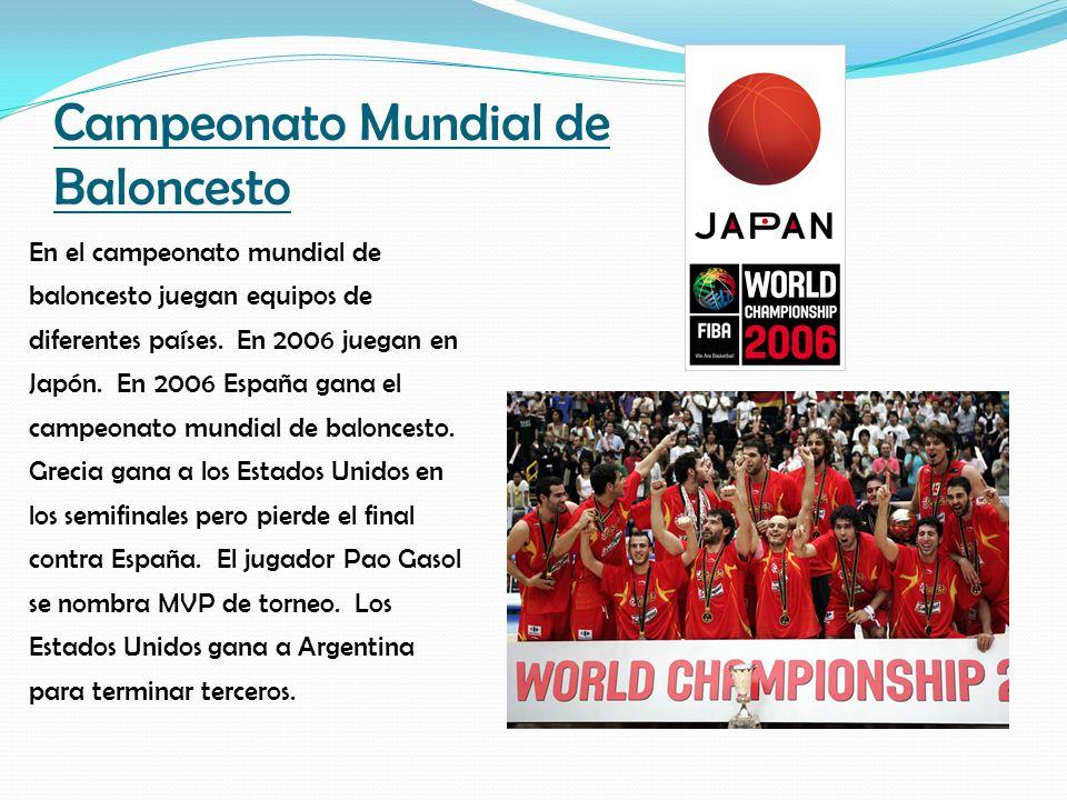 Campeonato Mundial de Baloncesto