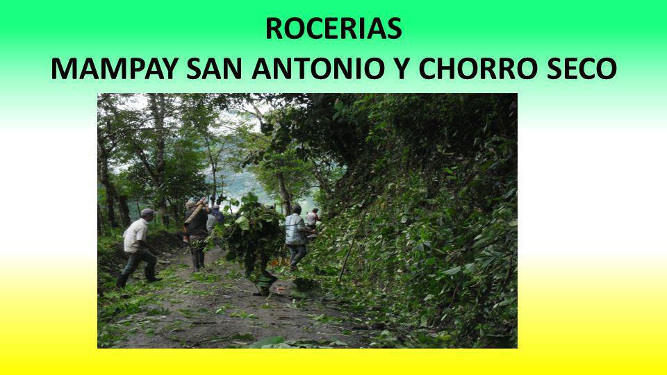 ROCERIAS MAMPAY SAN ANTONIO Y CHORRO SECO