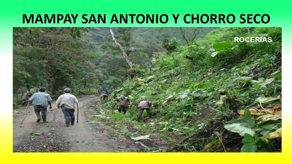 MAMPAY SAN ANTONIO Y CHORRO SECO