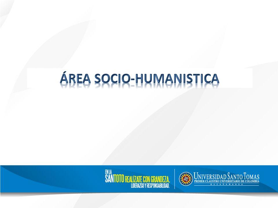 ÁREA SOCIO-HUMANISTICA