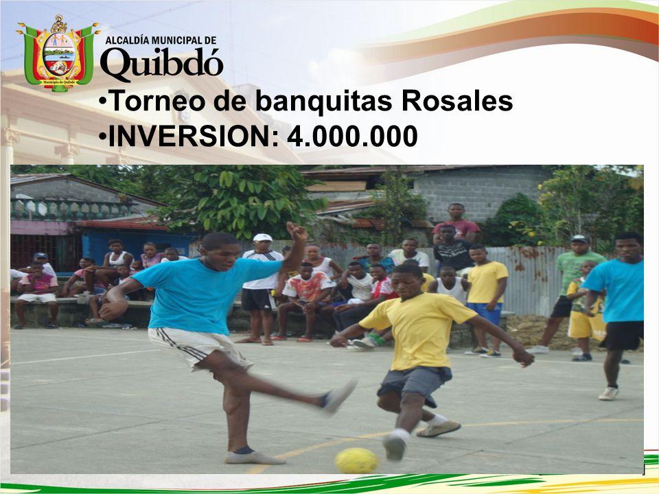 Torneo de banquitas Rosales