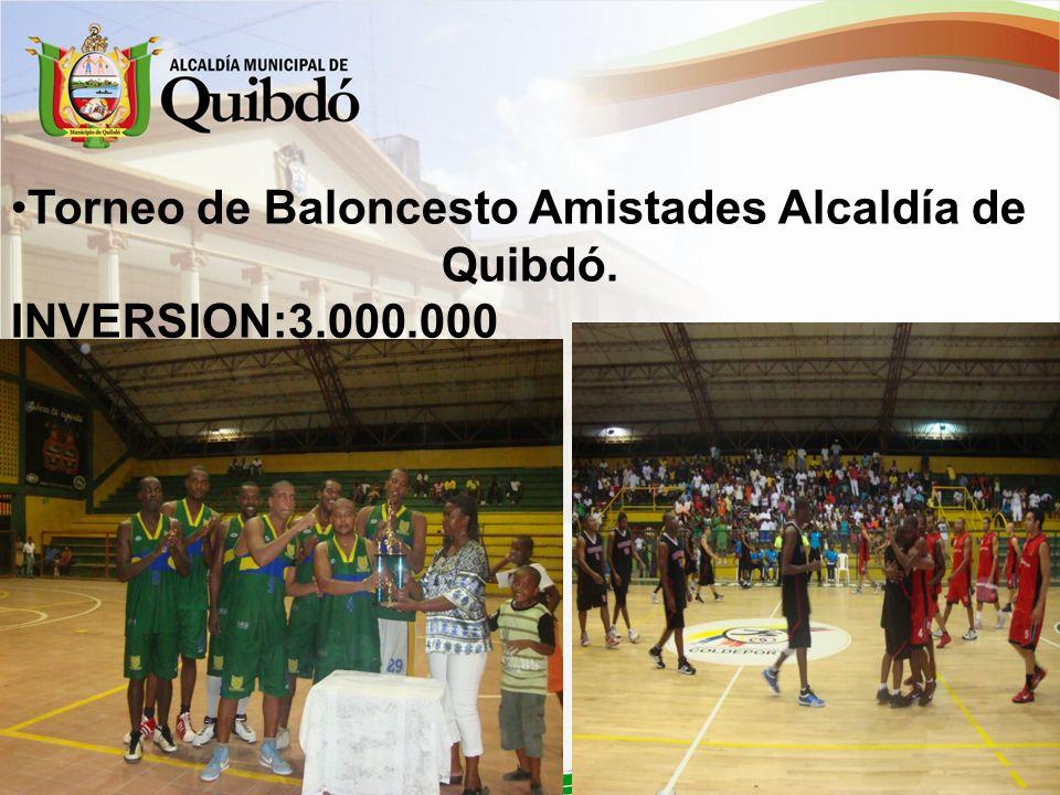 Torneo de Baloncesto Amistades Alcaldía de