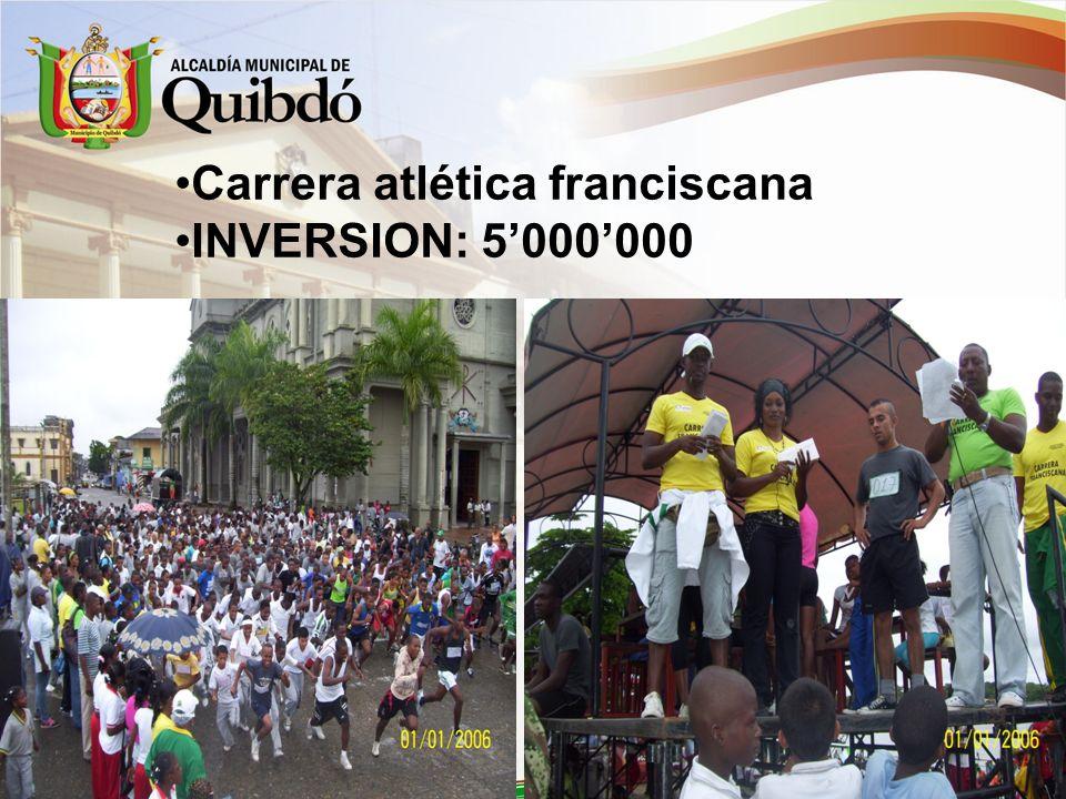 Carrera atlética franciscana