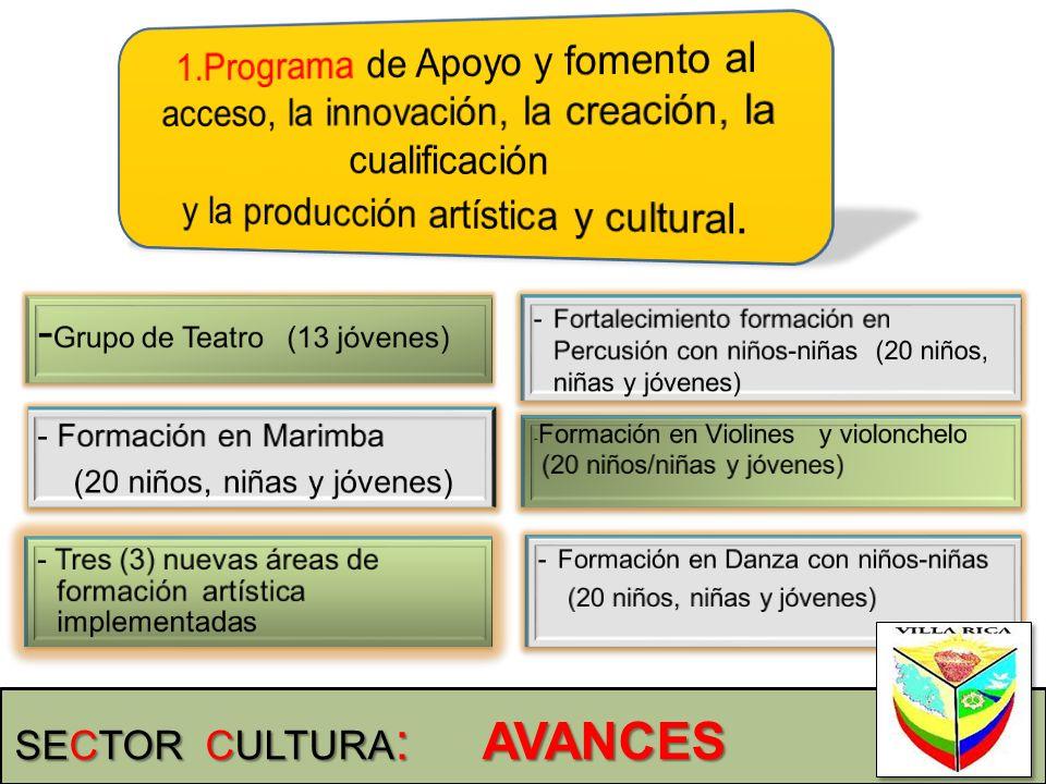 y la producción artística y cultural.