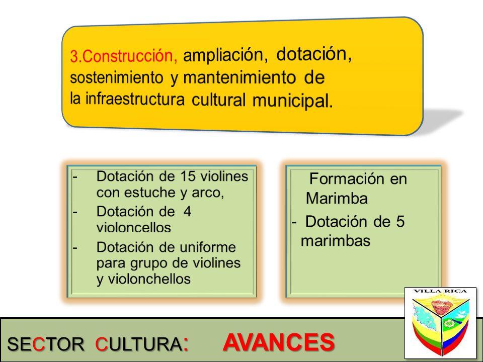 3.Construcción, ampliación, dotación, sostenimiento y mantenimiento de