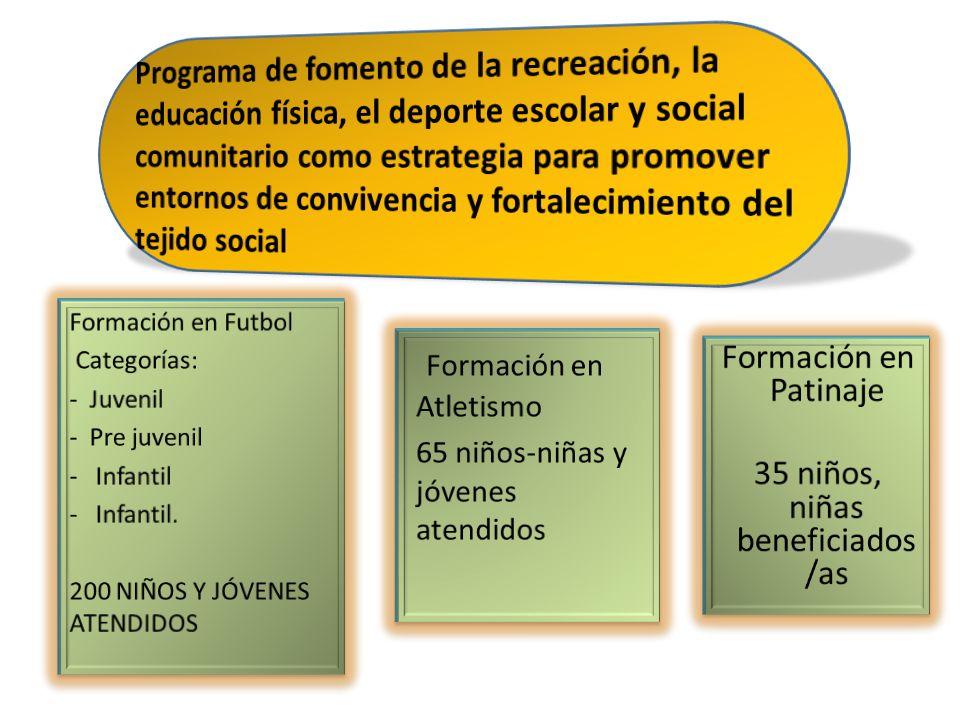 35 niños, niñas beneficiados/as