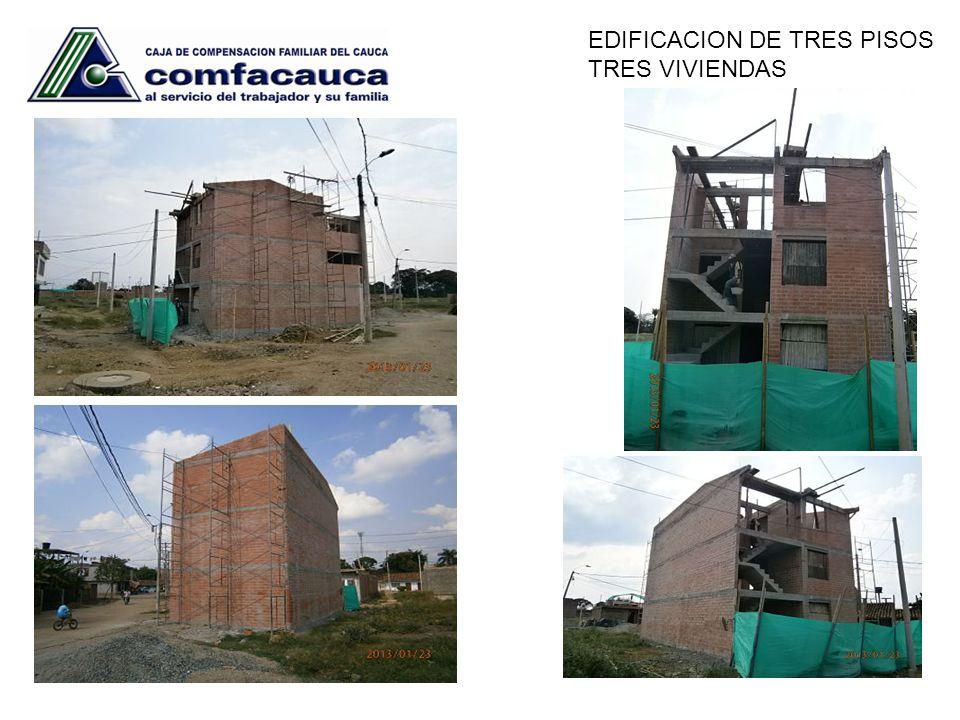 EDIFICACION DE TRES PISOS