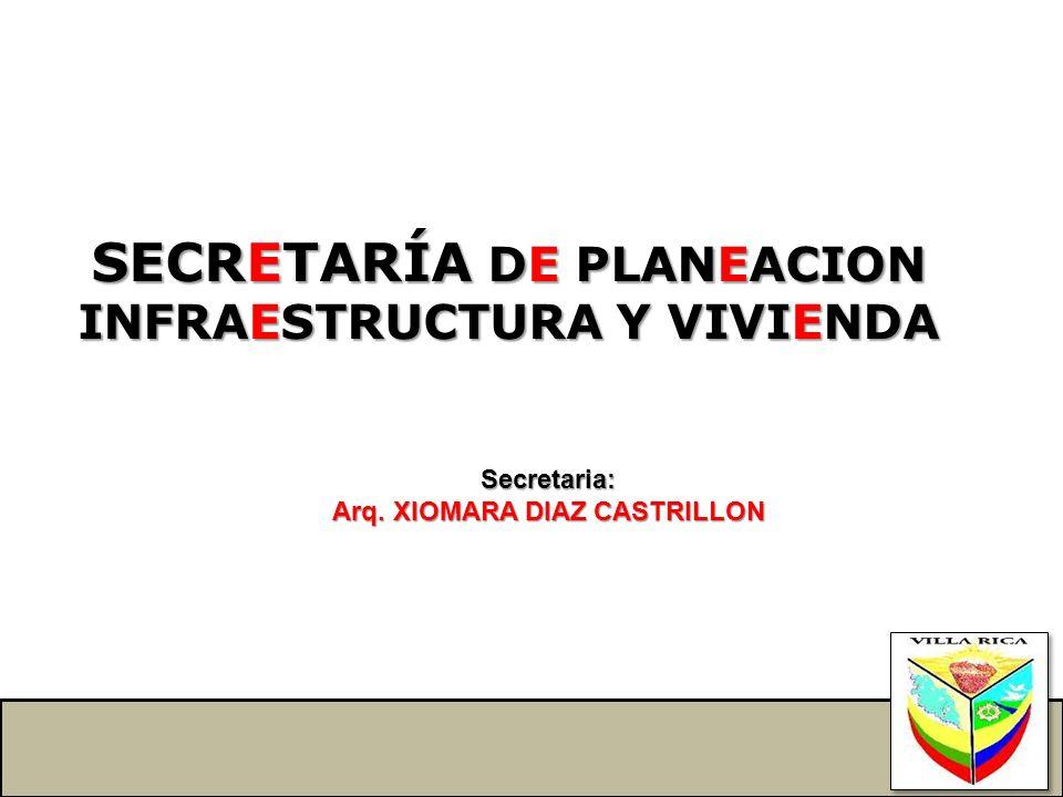 SECRETARÍA DE PLANEACION
